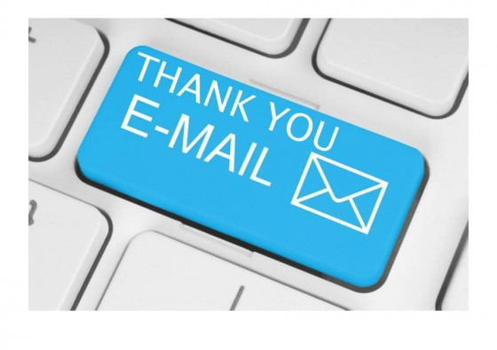 THANK-YOU EMAILS